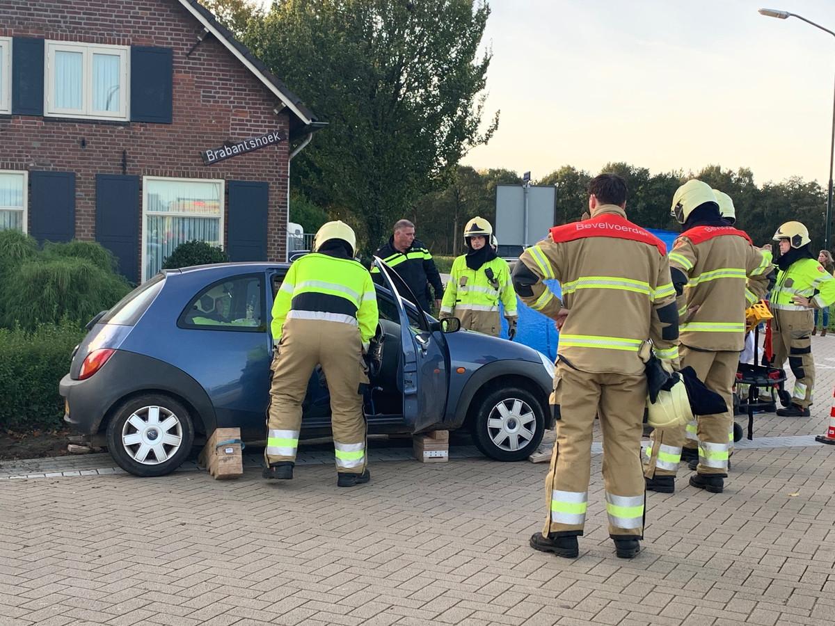Oktober 2019 was het weer raak op de kruising van de Heusdensebaan in Biezenmortel.