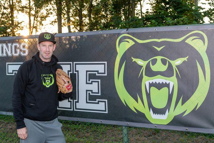 Youri Visser, voorzitter van de nieuwe club Extra Innings