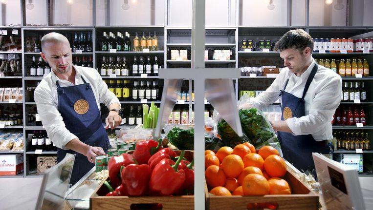 Bilder & de Clercq opende in 2013 een winkel op de hoek van de Bilderdijkstraat en de De Clercqstraat. Beeld Jean-Pierre Jans