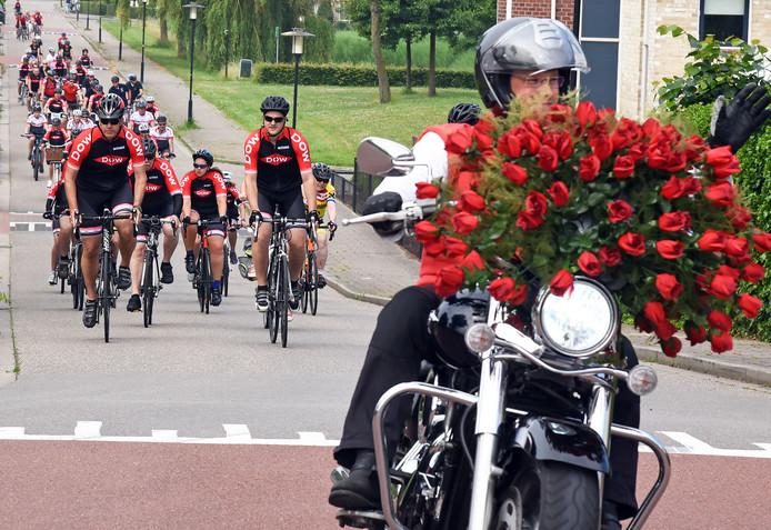 Eerdere editie Delta Ride for the Roses vanuit Terneuzen.