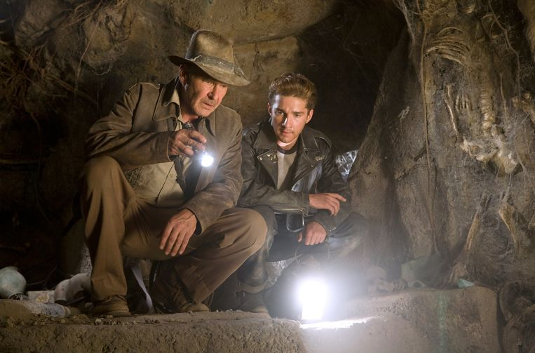 Foto uit Indiana Jones and the Kingdom of the Crystal Skull. Beeld Kos