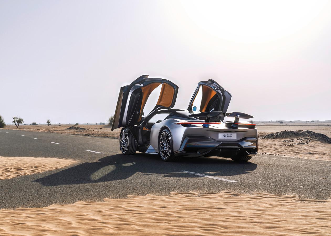 Volgens Pininfarina gaat de Battista zo'n 2.2 miljoen euro kosten.