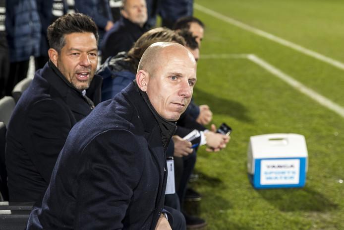 Reinier Robbemond weet in de slotfase dat het goed zit. PSV is verslagen.