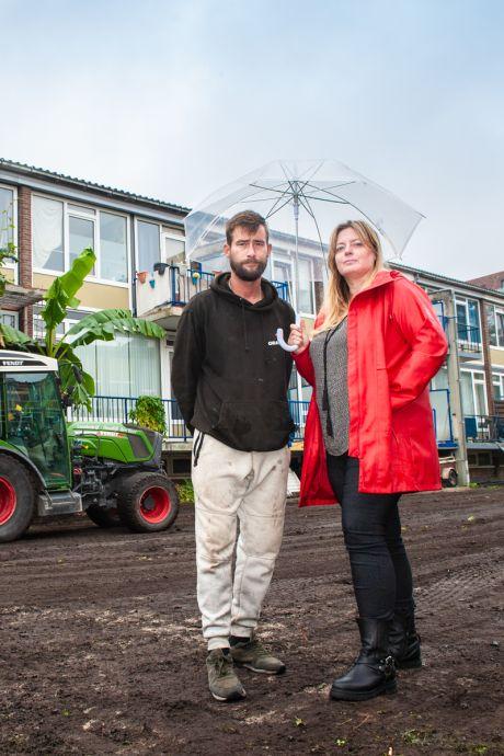 Bewoners woedend en verdrietig: gemeente maakt buurttuin in Gouda met de grond gelijk