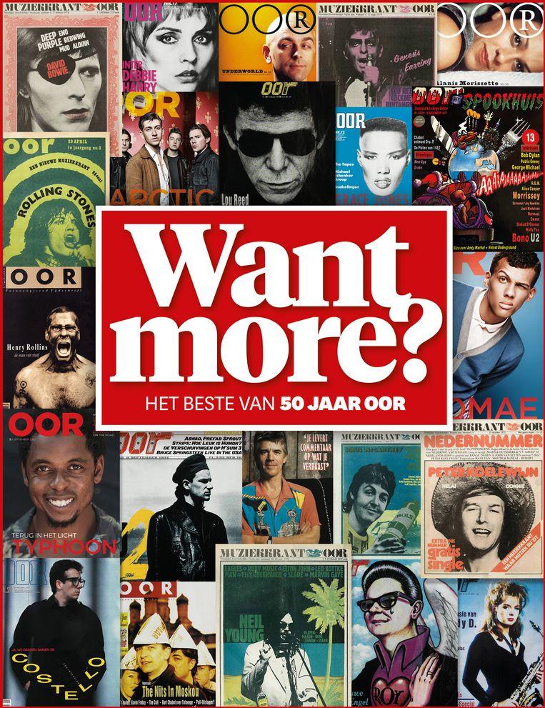Want More? het jubileumboek dat is uitgegeven ter eren van de vijftigste verjaardag van Oor Beeld