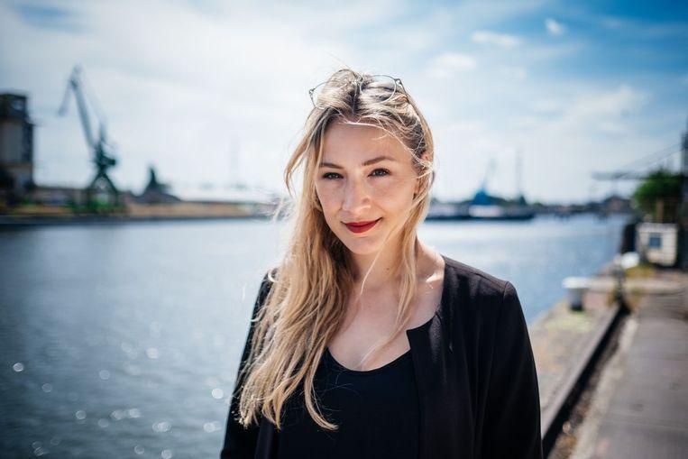 Ilona Lodewyckx.  Beeld wouter van vooren