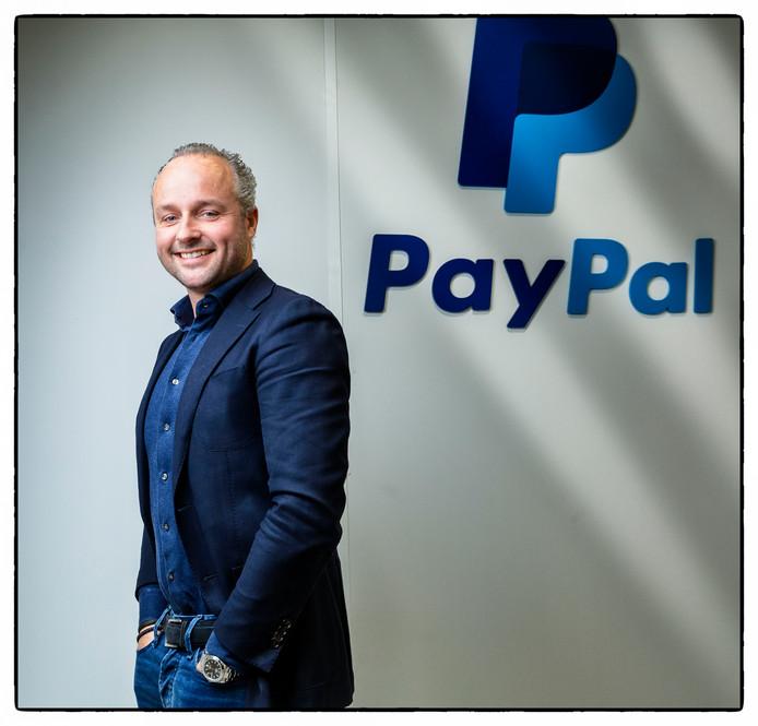 Jan-Willem Roest (43), sinds ruim drie jaar directeur van PayPal in de Benelux en Ierland.