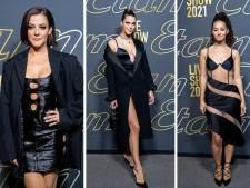 Iris Mittenaere, Camille Lellouche, Carla Bruni: les stars dévoilent leur lingerie au défilé Etam
