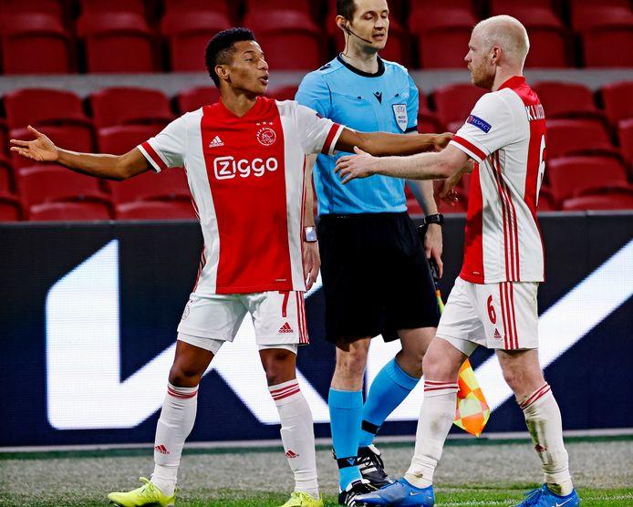 David Neres en Davy Klaassen waren tegen Lille de doelpuntenmakers.