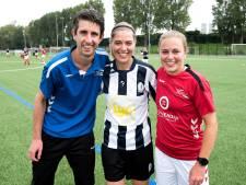 Trainer David Romijn speelt met schoonzus tegen echtgenote Marieke: 'Blij dat mijn zus niet heeft gescoord'