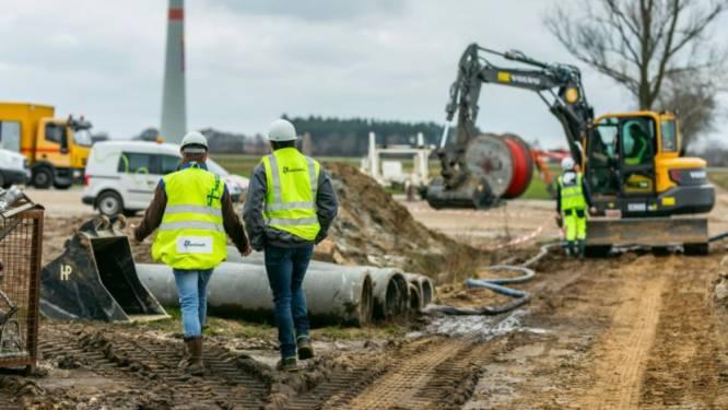 Uitbreiding lokaal elektriciteitsnet nadert eindfase