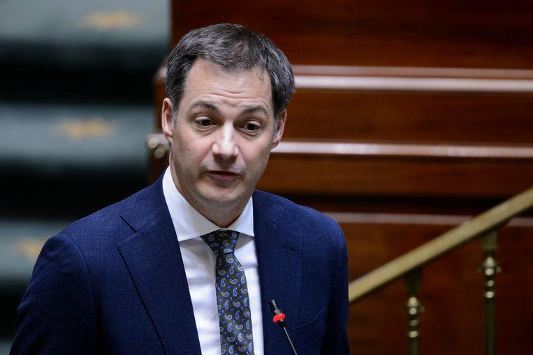 Minister van Financiën Alexander De Croo (Open Vld) Beeld Photo News