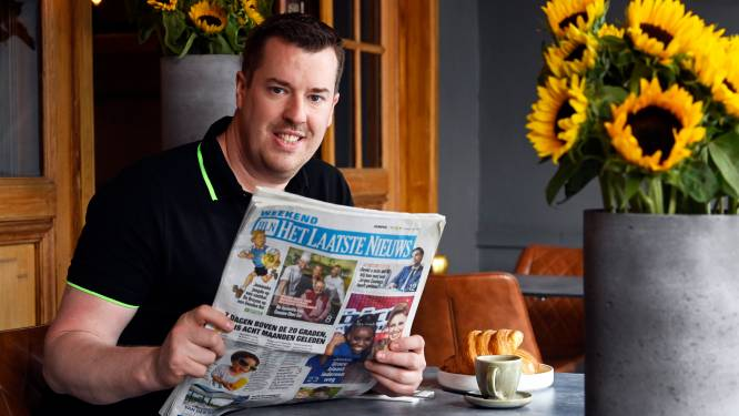 """Ontbijten met HLN-lezer Dave Pelemans (42) : """"Ik word heel blij van mensen in de watten te leggen"""""""