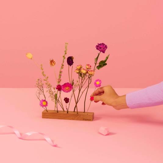 Droogbloemen uit de Valentijnscollectie van Bloomon.