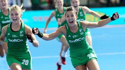 Ierland verrast Spanje en plaatst zich voor de finale op WK hockey voor dames