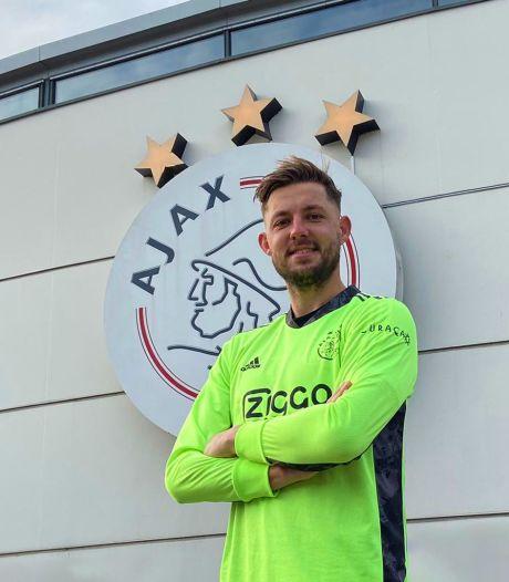 Een appje naar Van der Sar en Nick Hengelman uit Glanerbrug keept bij Ajax