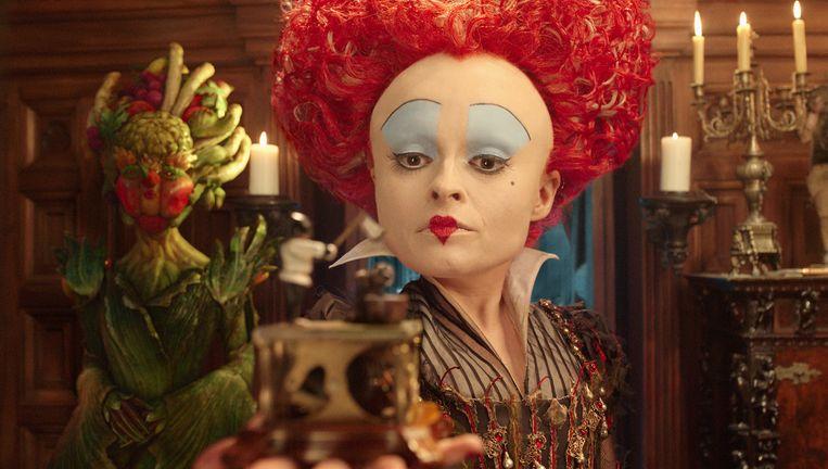 Iracebeth, the Red Queen (Helena Bonham Carter) Beeld -