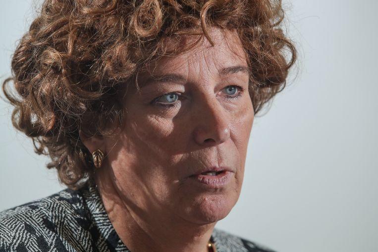 Minister Petra De Sutter. Beeld