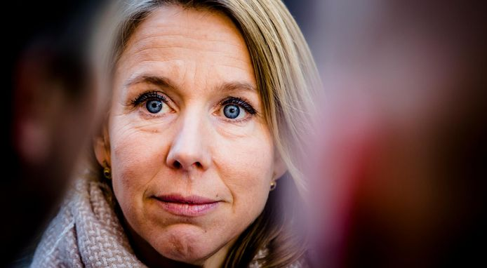 Staatssecretaris Stientje van Veldhoven.