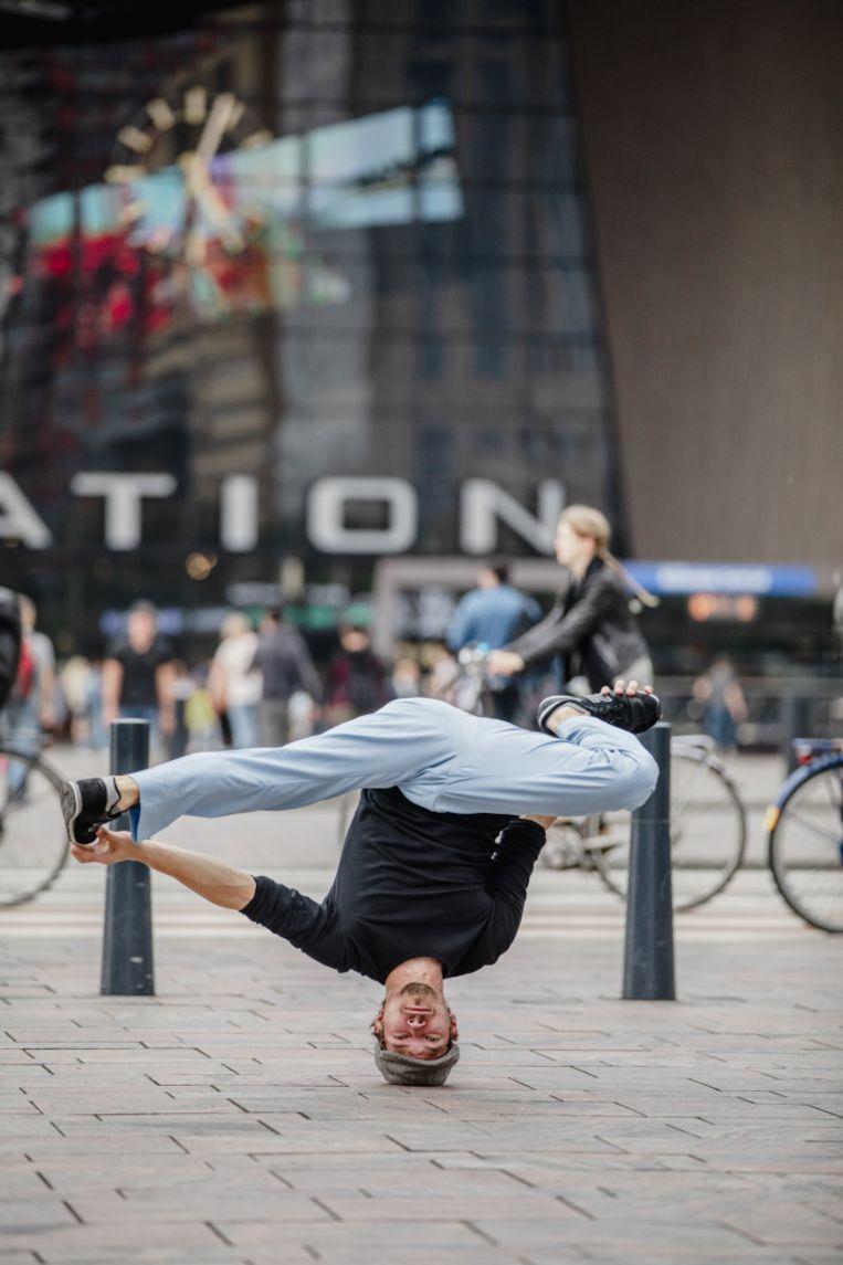 Breakdance op hoog niveau uit Rotterdam.