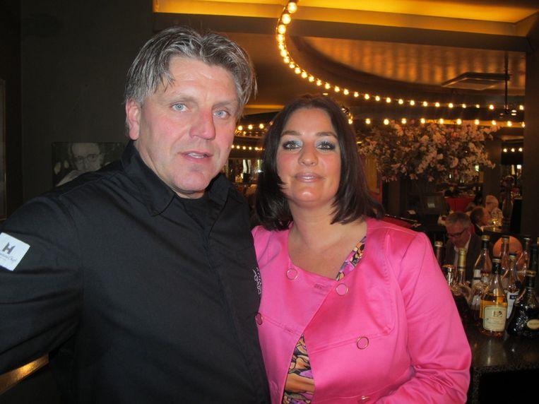 Jonnie en Thérèse Boer hebben voor een dag Le Garage overgenomen. Beeld Frank Kromer