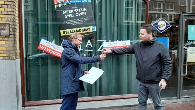 Horecazaken in en om Dordrecht doen mee aan #BlackMonday voor meer steun: 'Ons potje is leeg'
