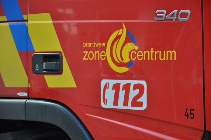 De brandweer moest een 48-jarige chauffeur bevrijden