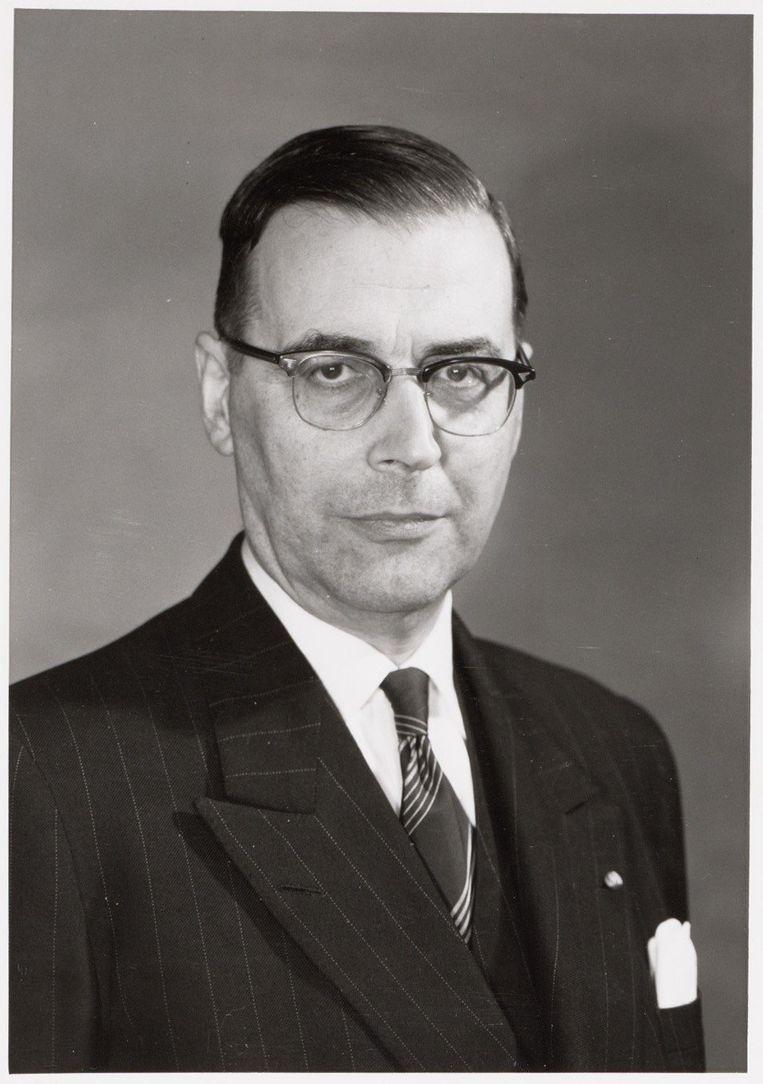 Gijs van Hall (1904-1977) Beeld Stadsarchief Amsterdam