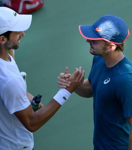 "Djokovic craint Goffin: ""David a un jeu de jambes phénoménal"""