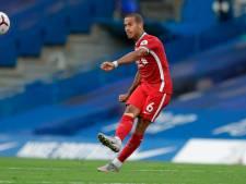 Liverpool nog zeker twee duels zonder  Thiago