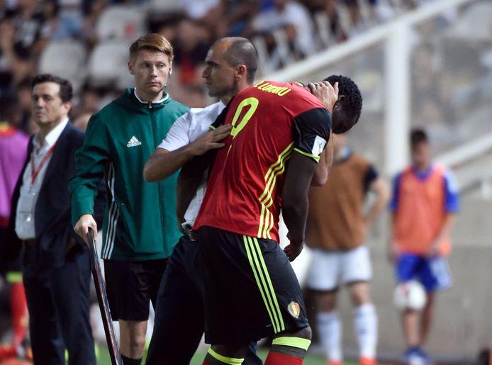 Martínez bedankt Romelu.