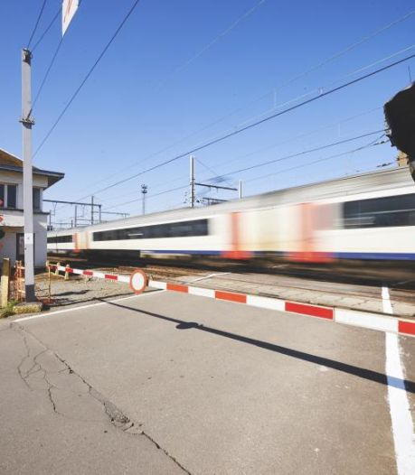 Flitspalen bij overweg: tot 4000 euro boete