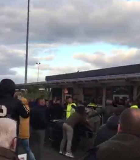 Politie verwacht nog meer arrestaties na rellen bij TEC-Spakenburg