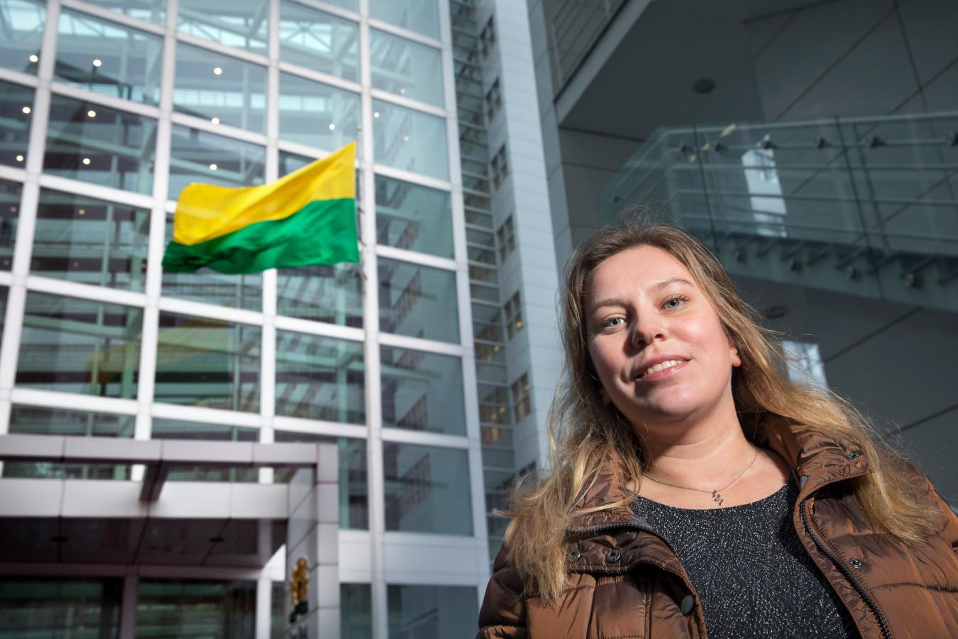 SP-lijsttrekker Hanne Drost (30): ,,Toen ik 16 was, zei mijn vader: Je moet leren demonstreren.''