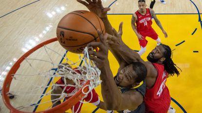 VIDEO. Houston wint bij Golden State, LA Lakers onderuit tegen New Orleans