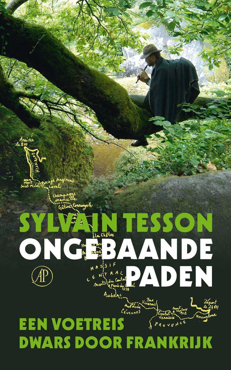 Sylvain Tesson, 'Ongebaande paden. Een voetreis dwars door Frankrijk', De Arbeiderspers, 178 p., 18,99 euro. Vertaling Eef Gratama.  Beeld RV