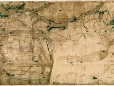 Biesbosch-atlas uitgebreid met historische, grote kaart