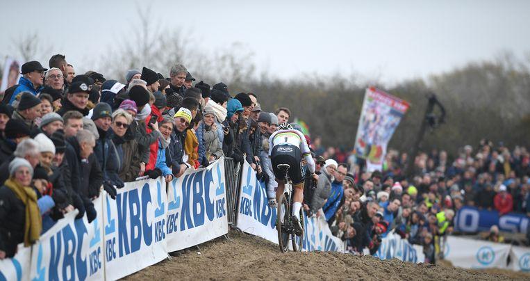 """Mathieu van der Poel: """"Ik voelde meteen dat ik zeer goede benen had."""" Beeld BELGA"""