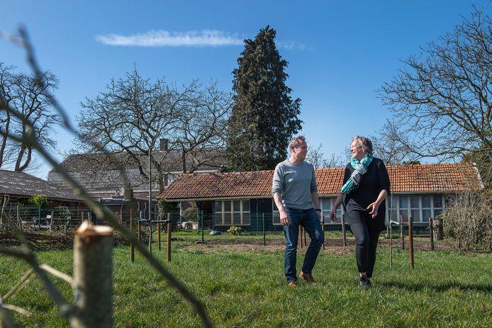 Maaike Meussen en Joris Diezi verruilden afgelopen jaar de bebouwde kom voor het buitengebied van Gilze.