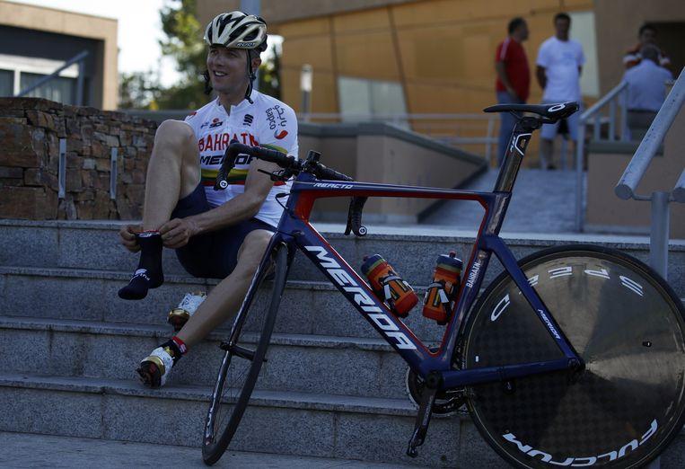 Navardauskas is dankzij zijn ritzege ook de nieuwe leider in de stand, hij heeft drie seconden voorsprong op Mollema. Boonen is negende op 29 eenheden. Beeld Photo News