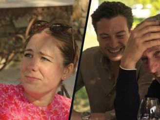 De wijnproeverij bij 'De Verhulstjes' loopt fout af: Marie boos op dronken Gert en Viktor