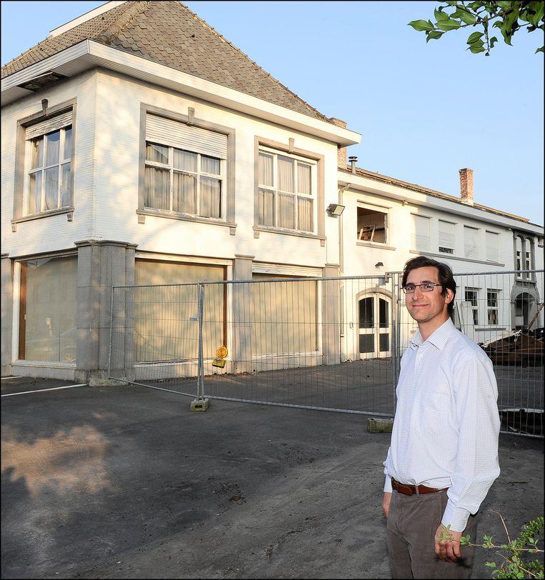 De vermoorde kasteelheer Stijn Saelens. Beeld Photo News
