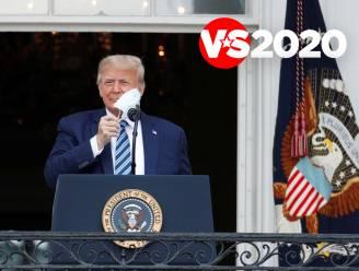 Eerste toespraak van Trump na coronabesmetting voor honderden aanwezigen in tuin van Witte Huis
