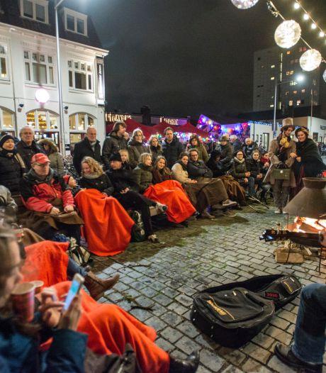 Voorproefje Factory Festival in Sas van Gent, met absurd corona-optreden