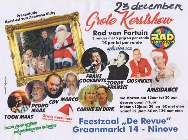 Folder Kersthow Ninove.