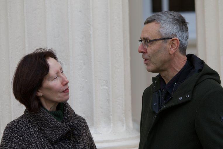 Kieran Clarke (Universiteit van Oxford) en Peter Hespel (KU Leuven) zijn pioniers op vlak van ketonenonderzoek. Beeld RV