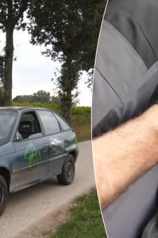 Wat gebeurt er wanneer je met 100 km/u de achteruit inschakelt?