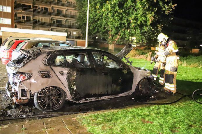 De auto in Culemborg was niet meer te redden .