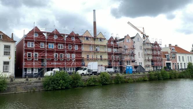 Vereniging Binnenstad: 'Zandzakken slechte promotie voor Bergen op Zoom'