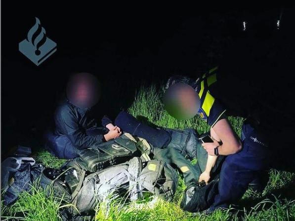 """La police revient sur un """"rapport spécial qui a abouti à cette découverte dans le noir sur le bas-côté""""."""